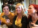 Sally, Dorothee and Elaine