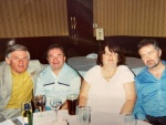 5th anniversary with Dermot, Gerry, Catherine and Ken
