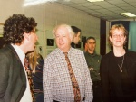 The late Gerry Connolly of Colaiste Dhulaigh (centre)